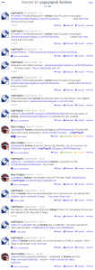 UPDATE January 2014 – My stalker`s main Twitter account has been