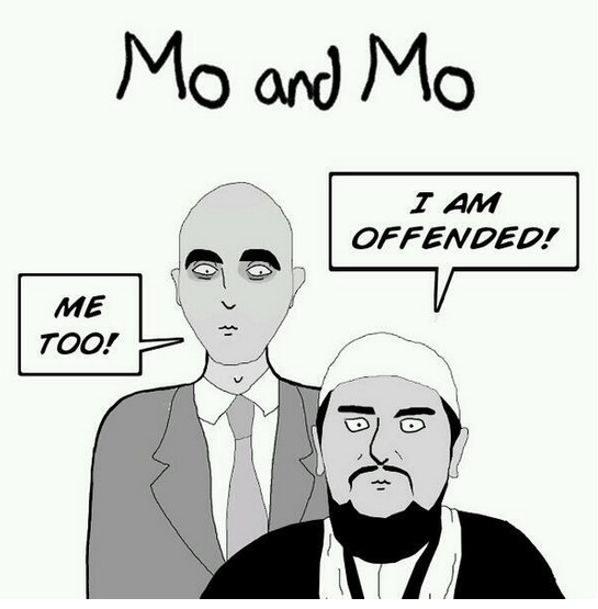 mo and mo offended