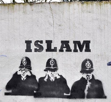 banksy islam