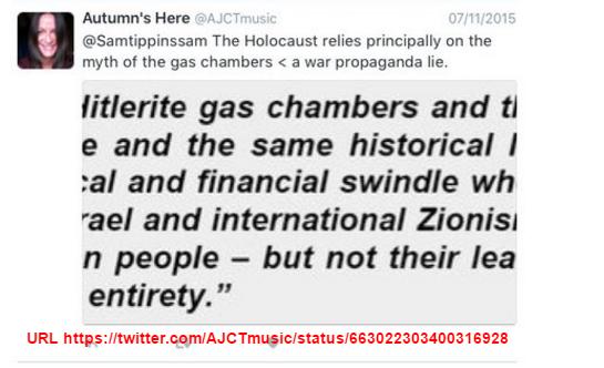 alison holocaust a LIE